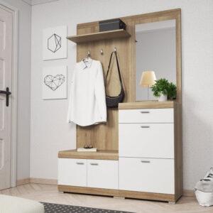 Fogas falak, előszoba szekrények